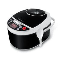 Pyle NutriChef PKPRC16 Digital Electronic Pressure Cooker Slow Cooker, Black