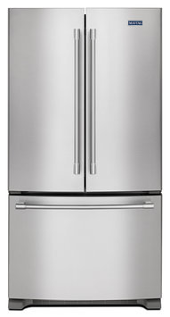 Maytag MFC2062FEZ 20.0 Cu. Ft. Stainless Steel French Door Refrigerator