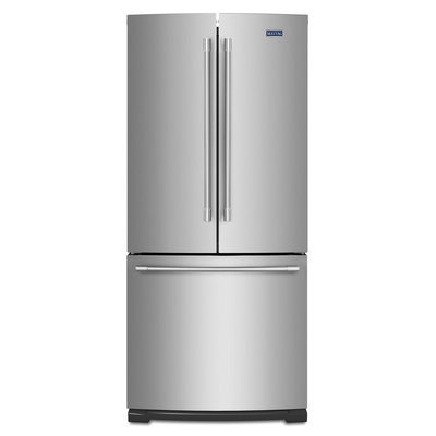 Maytag MFF2055FRZ 20.0 Cu. Ft. Stainless Steel French Door Refrigerator