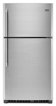 Maytag MRT711SMFZ 21.24 Cu. Ft. Fingerprint Resistant Stainless Steel Top Freezer Refrigerator