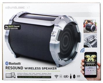 David Shaw Silverware NA LTD Reound Wireless Speaker, Black