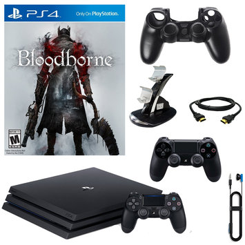 Infolist Corp. Sony PlayStation 4 Pro 1TB Console With Bloodborne & Accessories