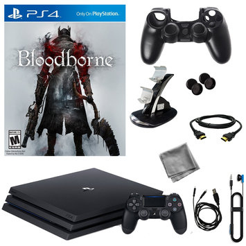 Infolist Corp. Sony PlayStation 4 Pro 1TB Console With Bloodborne & 8 in 1 Kit