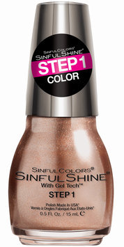 SINFULCOLORS Two-Step Gel Nail Polish Beau-tie, Grey