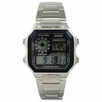 Casio Men's Core AE1200WHD-1AV Digital Stainless-Steel Quartz Watch