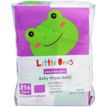 Mygofer Sensitive Skin Refill Baby Wipes 256 CT PACK