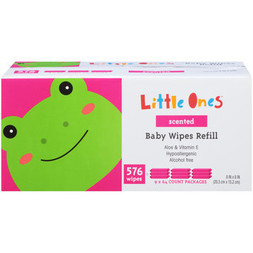 Mygofer Scented Refill Baby Wipes 576 CT BOX