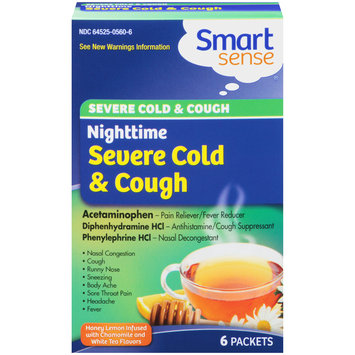 Mygofer Nighttime Severe Packets Cold & Cough Relief 6