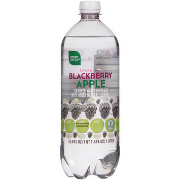 Blackberry Apple Sparkling Water 33.8 FL OZ BOTTLE