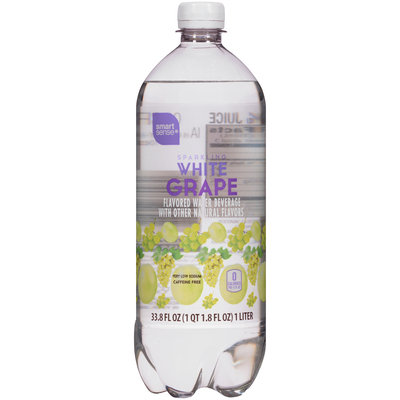 White Grape Sparkling Water 33.8 FL OZ BOTTLE