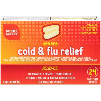 Severe Caplets Cold & Flu Relief