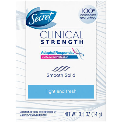 Secret Clinical Strength Advanced Solid Antiperspirant & Deodorant