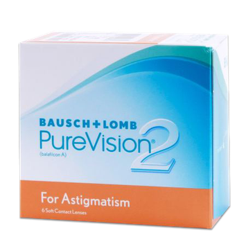 PureVision2 Toric For Astigmatism Contacts