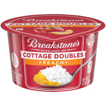 Breakstone's Cottage Doubles Peach Cottage Cheese