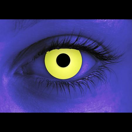 Rave Yellow Halloween Contact Lenses