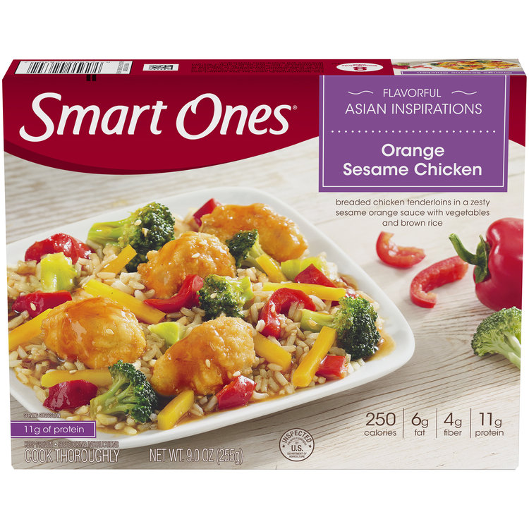 Smart Ones Flavorful Asian Inspirations Orange Sesame Chicken