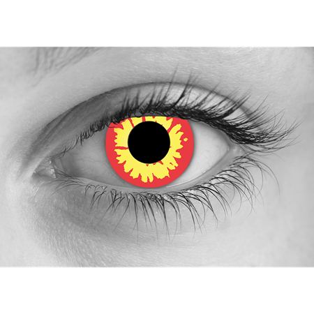 Red Wolf Halloween Contact Lenses