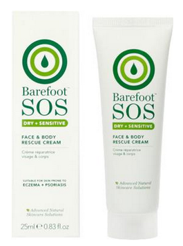 Barefoot S.o.s. Barefoot SOS Face & Body Rescue Cream 25ml