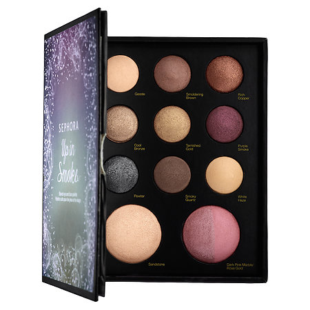 SEPHORA COLLECTION Up In Smoke Baked Eye and Face Palette