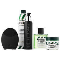 Foreo LUNA(TM) for Men Ultimate Grooming Collection with PRORASO