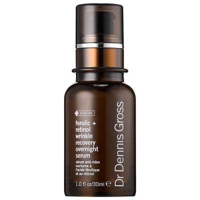 Dr. Dennis Gross Skincare Ferulic + Retinol Wrinkle Recovery Overnight Serum 1 oz