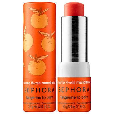 SEPHORA COLLECTION Lip Balm & Scrub Tangerine 0.123 oz/ 3.5 g