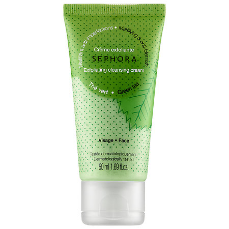 SEPHORA COLLECTION Cleansing & Exfoliating Cleansing Cream Green Tea 1.69 oz/ 50 mL