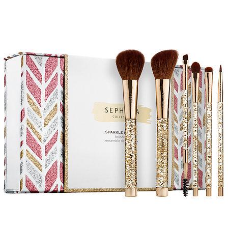 SEPHORA COLLECTION Sparkle & Shine Brush Set