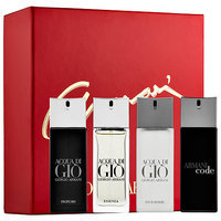 Giorgio Armani Beauty World of Armani Travel Spray Gift Set 4 x 0.67 oz/ 20 mL