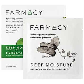 Farmacy Hydrating Coconut Gel Mask - Deep Moisture (Cucumber) 1 mask