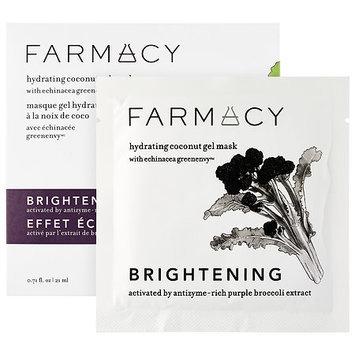 Farmacy Hydrating Coconut Gel Mask - Brightening (Purple Broccoli) 1 mask