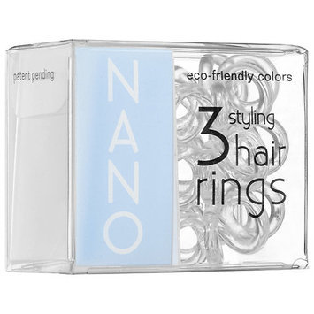 invisibobble NANO the styling hair ring Crystal Clear 3 styling hair rings