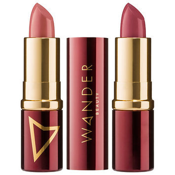 Wander Beauty Wanderout Dual Lipsticks Girl Boss (caramel rose)/ Miss Behave (mauvey nude) 0.14 oz/ 4.08 g