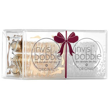 invisibobble Duo Pack Time to Shine ORIGINAL the traceless hair ring