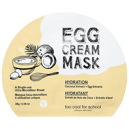 Sephora Favorites Too Cool For School Egg Cream Mask Hydration