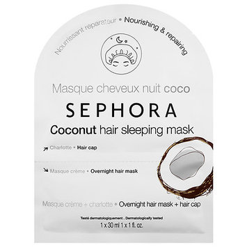 SEPHORA COLLECTION Hair Sleeping Mask Coconut 1.0 oz/ 30 mL
