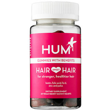 Hum Nutrition Hair Sweet Hair 60 Vegan berry gummy hearts