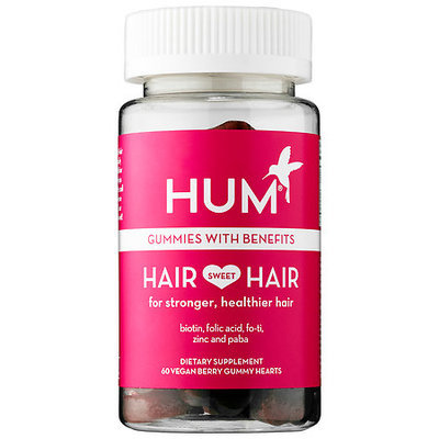 Hum Nutrition Hair Sweet Hair 60 Vegan berry gummy hearts