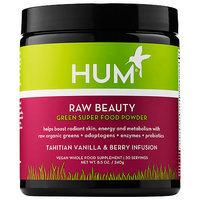 Hum Nutrition Raw Beauty Green Super Food Powder - Tahitian Vanilla & Berry Infusion
