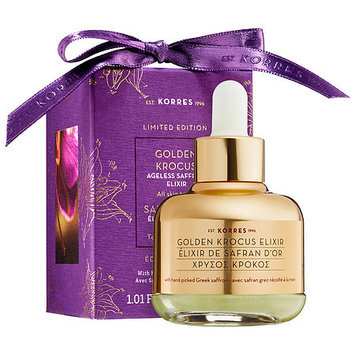 KORRES Golden Krocus Ageless Saffron Elixir Serum Limited Edition 1.01 oz/ 30 mL