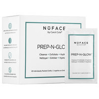 NuFACE Prep-N-Glow(TM) Cloths 20 Individually Packed Cloths