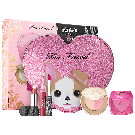 Kat Von D Too Faced X Better Together Cheek & Lip Makeup Bag