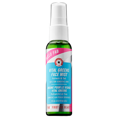 First Aid Beauty Hello FAB Vital Greens Face Mist 2 oz/ 59 mL