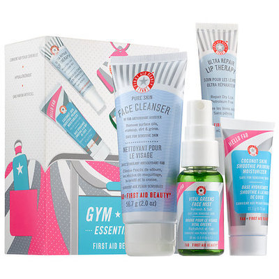 First Aid Beauty Hello FAB Gym Bag Essentials Kit