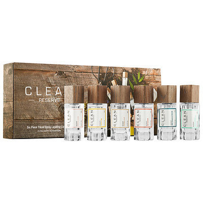 CLEAN Six Piece Reserve Travel Spray Layering Collection