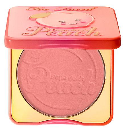 Too Faced Sweet Peach Papa Don't Peach Blush 0.32 oz/ 9.46 mL