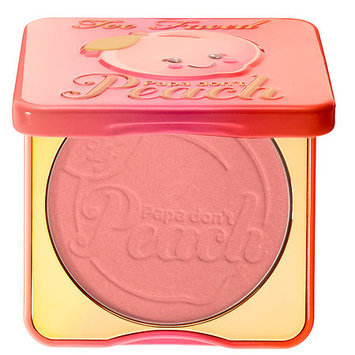 Too Faced Sweet Peach Papa Don't Peach Blush 0.32 oz/ 9.46 mL