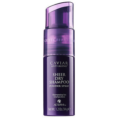 ALTERNA Haircare CAVIAR Anti-Aging Sheer Dry Shampoo Powder Spray 1.2 oz/ 34 g