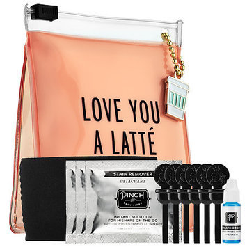 Pinch Provisions Love You A Latte Coffee Kit, Size One Size - Peach