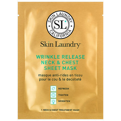 Skin Laundry Wrinkle Release Neck & Chest Sheet Mask 1 Neck & Chest Treatment